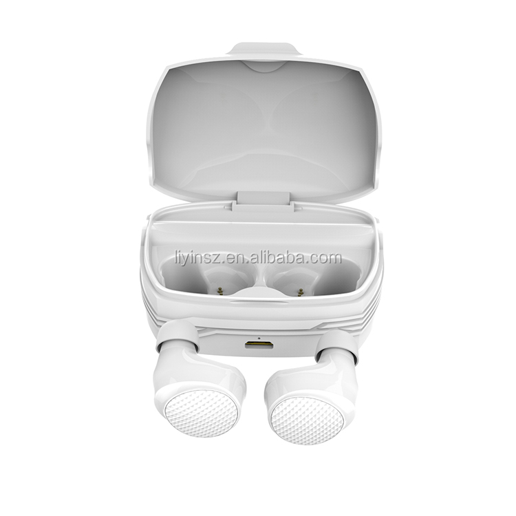 BT 5.0 Play 5H Auto Pair Hifi Stereo True Wireless Magnetic Tws Earbud Waterproof Sport Earphones with Charging Box