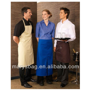 65%*35% Biz Collection BIB CATERING APRON New Towel loop and central front pocket