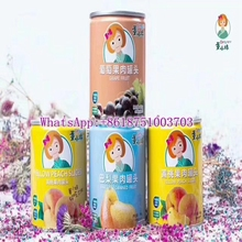 CANNED grape fruits BARTLETT CANNED FRUIT yellow peach slices YELLOW PEACH SLICES/manufacure/since 1958