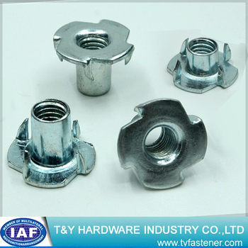 Furniture Hardware Bolt T Nuts Nut Tee