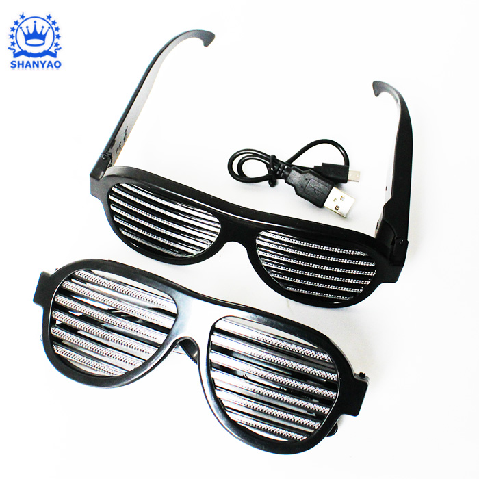 Voice LED Glasses-002