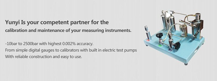 portable digital hand pump pressure calibrator low price