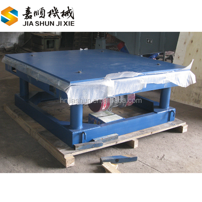 Construction used vibration shaker table systems for concrete moulds