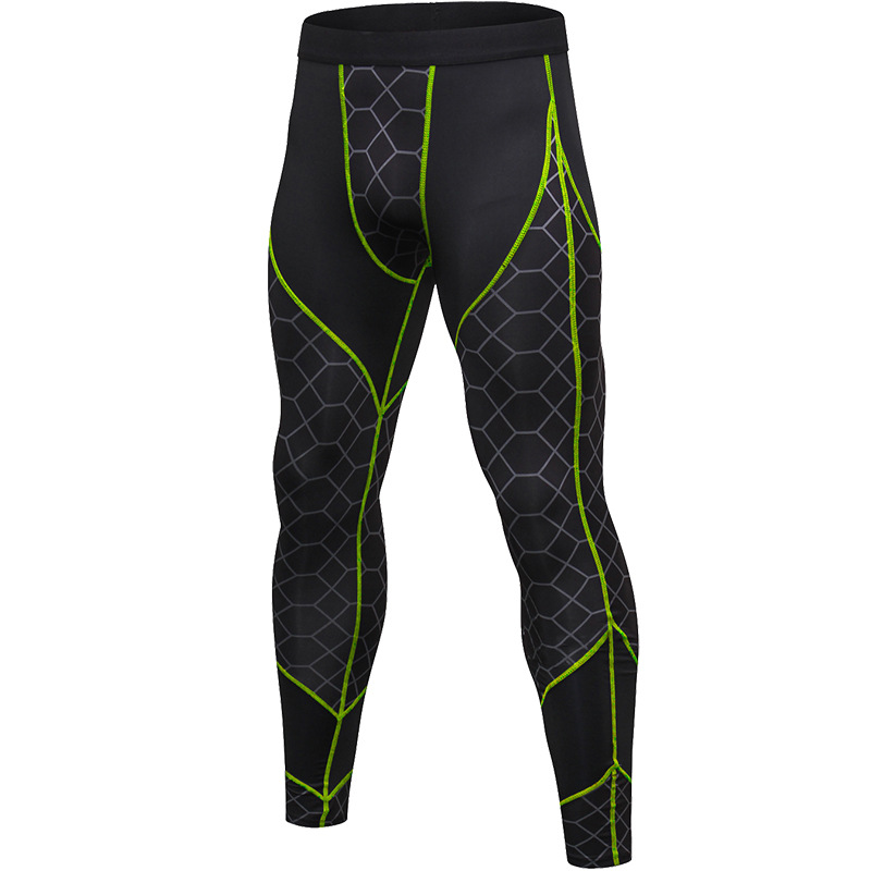 2019 New Design Workout Dry Fit Breathable Fitness Sport Wear Man Long Pant Leggings