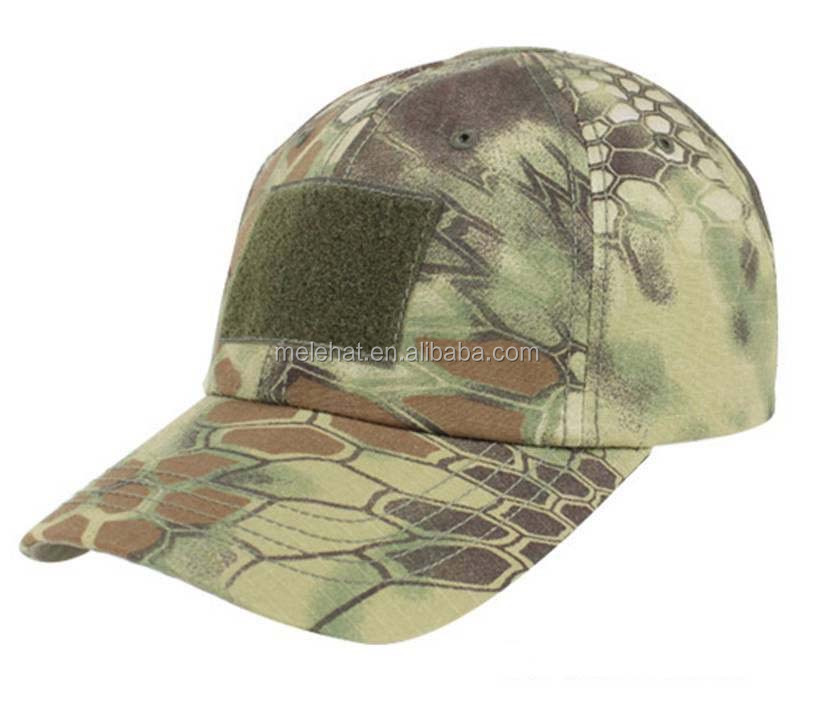 MultiCam Special Forces Operator Tactical Cap Hat with American flag Patch
