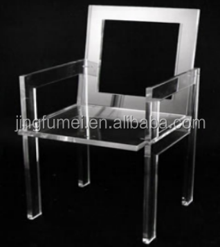 2017 New design BAP wholesale chair furniture transparent acrylic dining chair