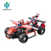 431 Stks 2.4G Apv RC Bouwstenen Kits Speelgoed <span class=keywords><strong>DIY</strong></span> Auto blokken speelgoed groothandel