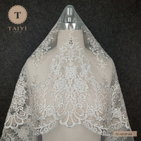 Hot Sale Lace Applique Embroidered Lace With Sequins For Costume Wedding