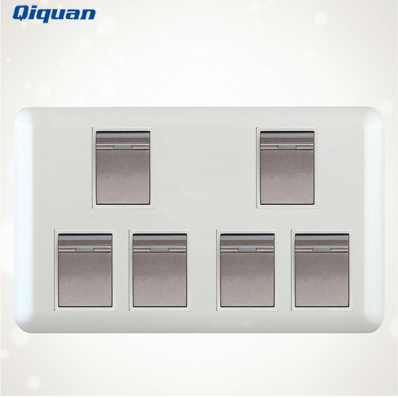 6 Gang Wall Light Pull Switch