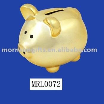 Ceramic Gold Design Piggy Bank Buy Design Piggy Bank