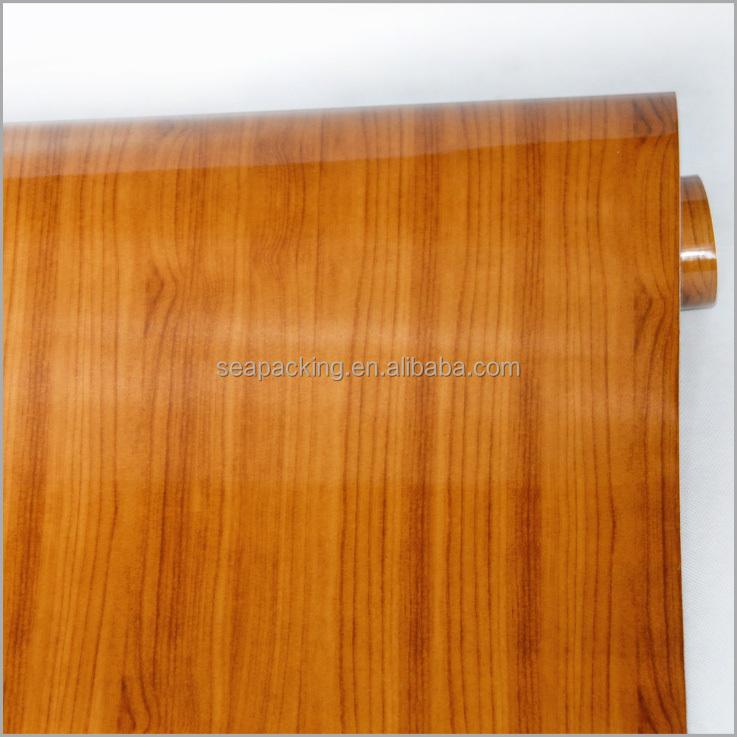 Durable bois motif textur auto adh sif papier peint - Adhesif decoratif pour meuble ...
