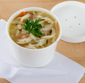 16 oz White Paper Soup / Hot Food Cup