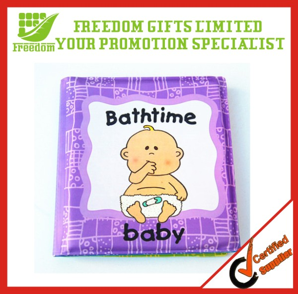 Custom Design Promotional Cartoon Bath EVA Book