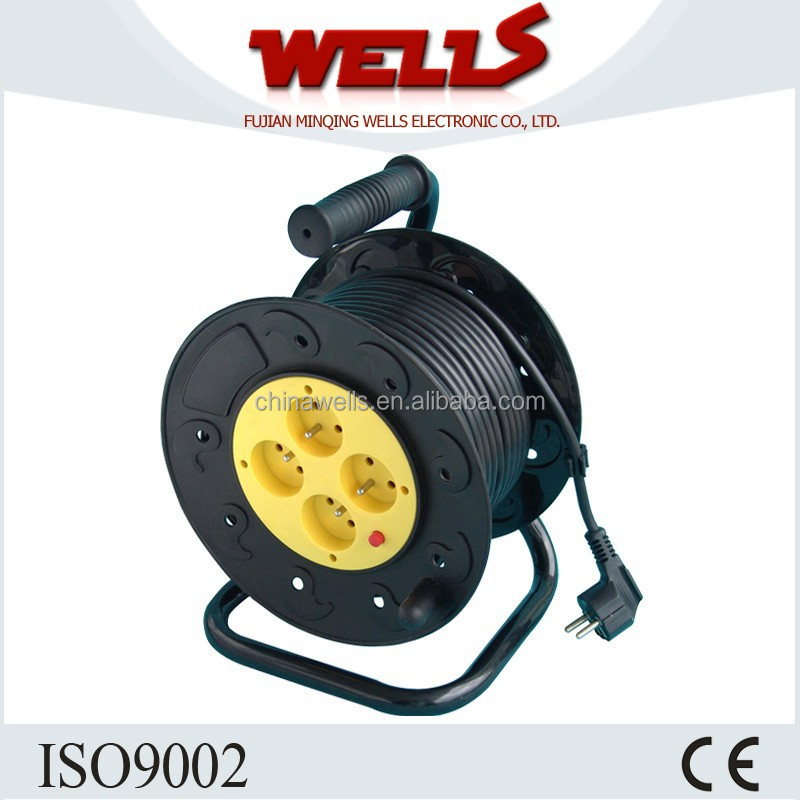 French type garden used power cable reel