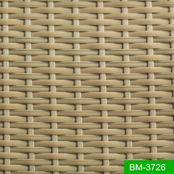 Brown Color Le Patio Furniture Material Wicker Rattan Plastic