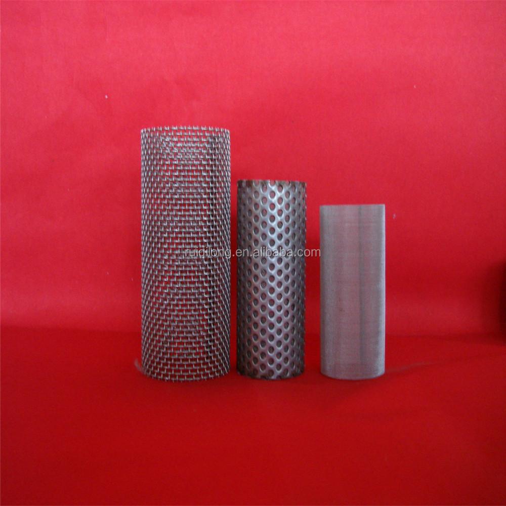 Benutzerdefinierte edelstahl drahtgeflecht zylinder filter made in ...