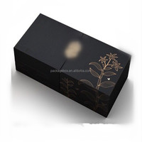 Custom Logo Double Door Opened Cosmetic Perfume Packaging Box With Die Cut Insert