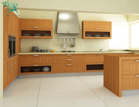 2018 Latest Wooden Cupboard Design Modern Italian Kitchen