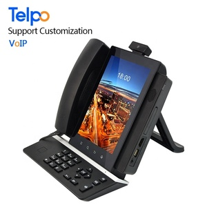 2018 Factory Manufacturing Smart Business VoIP Skype Desktop Telephone With Android System