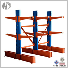 warehouse rack Industrial Double Side Cantilever Racking for long objects