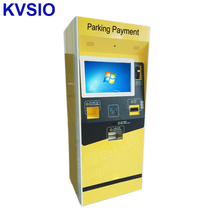 Insurance healthcare self-service check up hospital bill payment kiosk machine for health information medical record printing