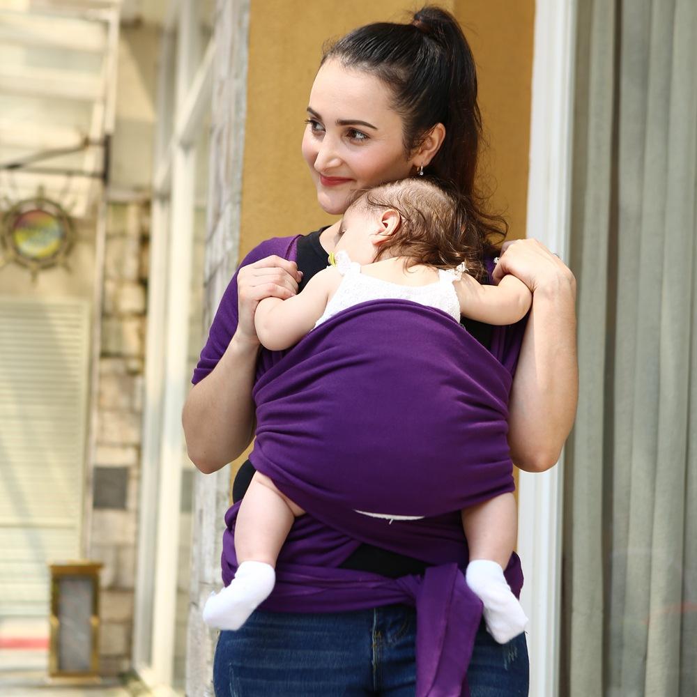 Super zacht en comfortabel baby wrap carrier katoen sling