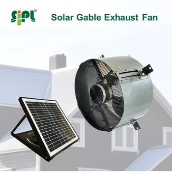 Solar powered wall mount air conditioning ventilation heat - Solar powered bathroom exhaust fan ...