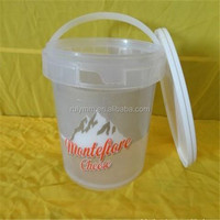 food/alimentary clear plastic container