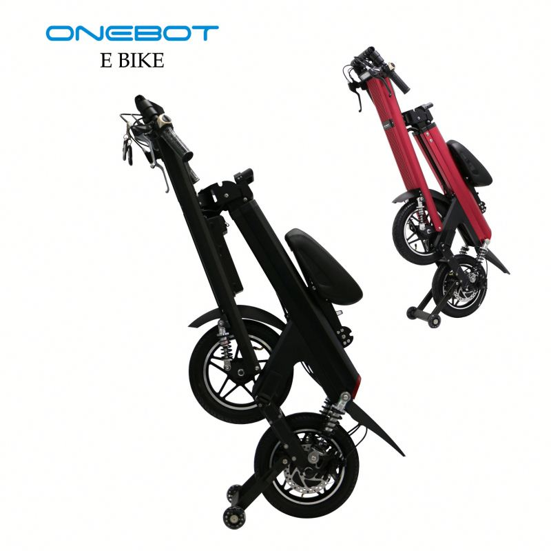 Concepts Wit new design ebike Onebot T8 solar powered electric scooter