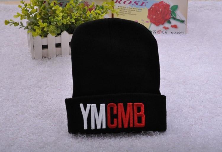 3cdd764d3b7 Wholesale-Acrylic Gorras YMCMB Beanie Winter Skullies Street Hip-hop ...