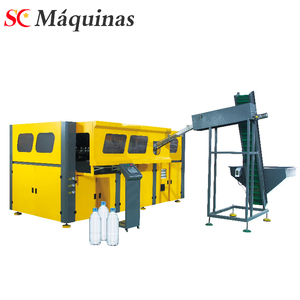 plastic extrusion blow moulding machine bottle water production line