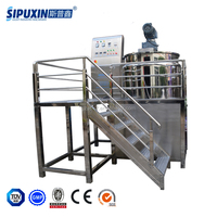 1000L Hotel Liquid Shampoo Blending Machine Liquid Soap Making Machine