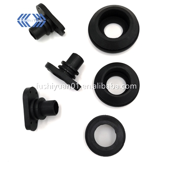 Custom oval round rubber grommets cable grommets moulded oblong rubber grommet