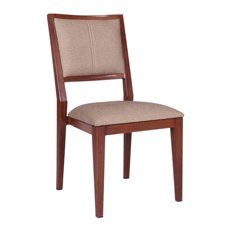 الخشب مثل أحدث مطعم تأجير المعادن الألومنيوم الكراسي مطعم