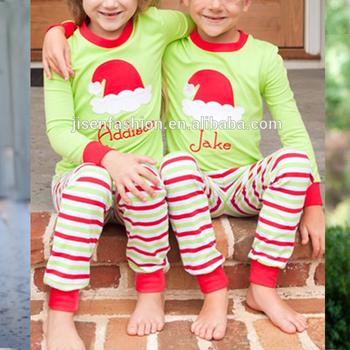 Christmas Matching Family Santa Monogram Pajamas - Buy Brother And ... abe282cf6