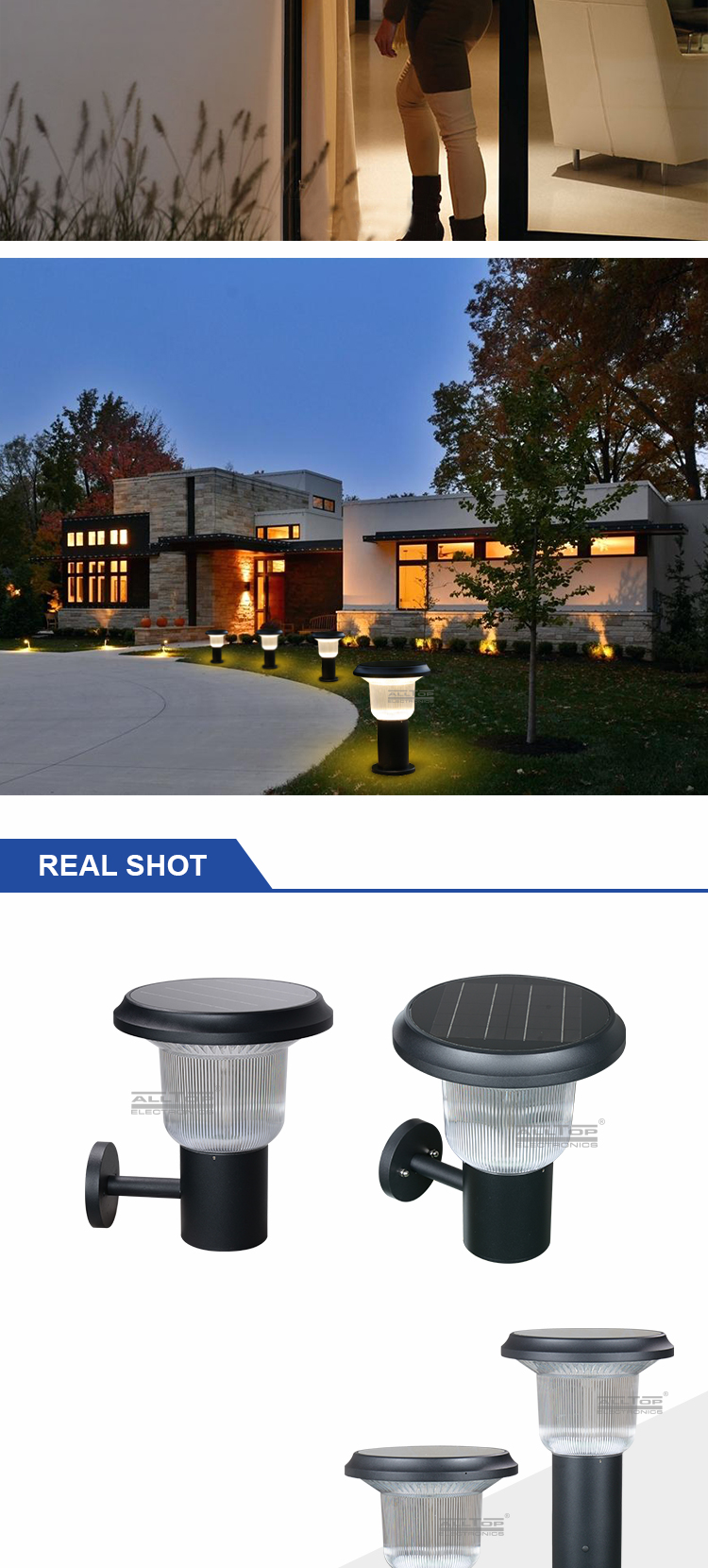 best solar lamp post lights-11