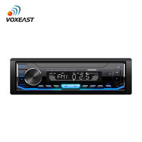 Single 1 din Fixed Panel display Car Audio MP3 Player with FM Bluetooth Aux SD USB Function Car Stereo