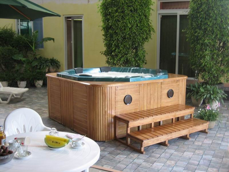 Classical series 6 person jacuzzi massage bathtub/outdoor spa/hot tub/ JNJ SPA-312