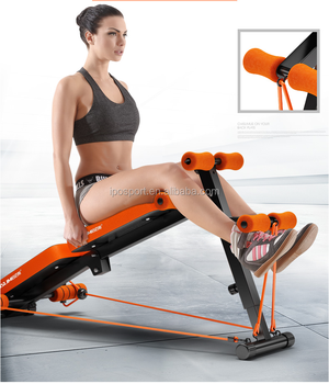 Hottest With Dumbell Incline Ab Roller Bench Sit Up Bench Ab Bench