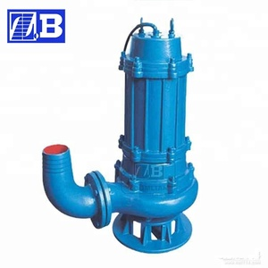 QW submersible sewage pump price philippines/wq submersible sewage  pump/40hp sewage centrifugal pump