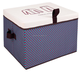 Canvas Storage Bag Kids Storage Boxes Hs Code Foldable Storage Bench
