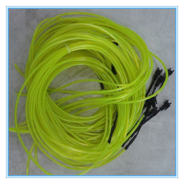 brightness neon el wire for christmas tree glowing