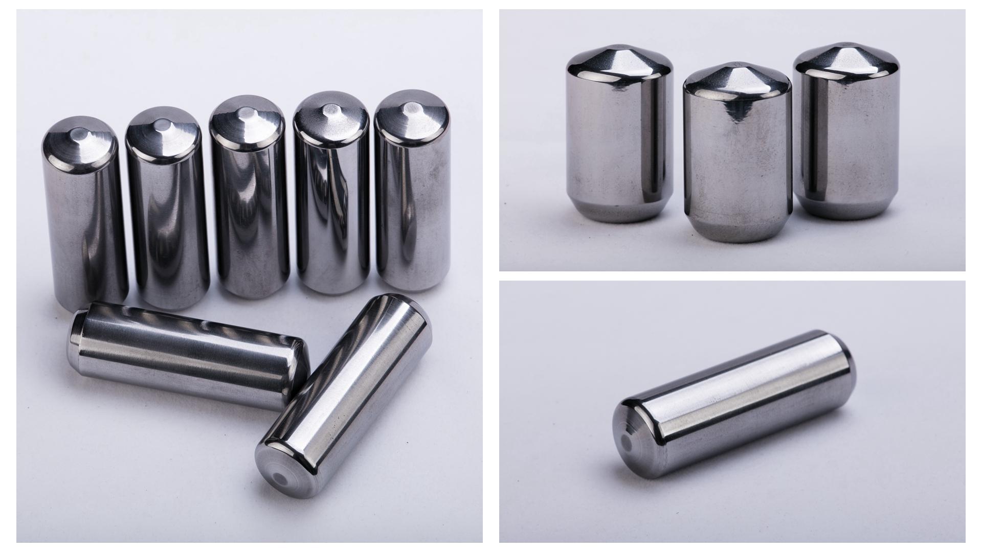 carbide stud for hpgr