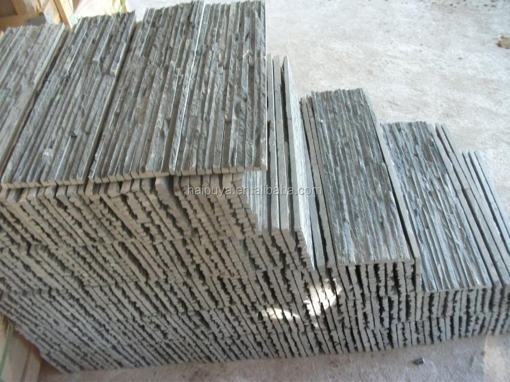 Natuurlijke muur steen strips leisteen product id 60231055810 - Leisteen muur ...