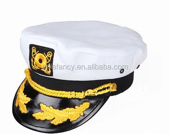 New Style Airline Pilot White Sailor Captain Hats Qhat-5461 - Buy ... f7da9a1d6fd