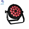 Wedding Lighting IP65 Outdoor Par 6in1 18pcs 18w LED Waterproof Flat par Light