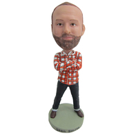 custom doll figurine bubble head