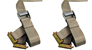 2- 16' Cambuckle Straps E Track Straps Enclosed Trailer