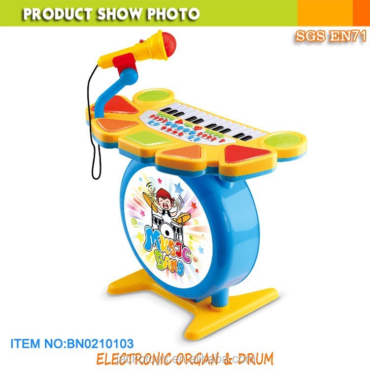 Kids Musical Instrument Electronic Keyboard Drum play set