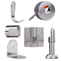 most popular stainless steel toilet partition hardware
